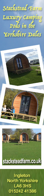 Stackstead Farm Camping Pods