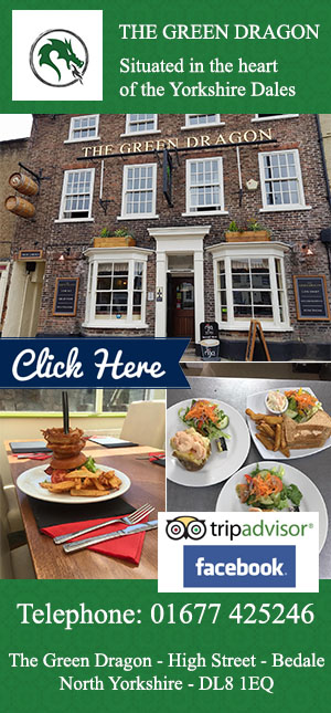 The Green Dragon, bedale, pub,food,eat,drink