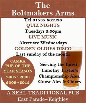 The Boltmakers, Keighley