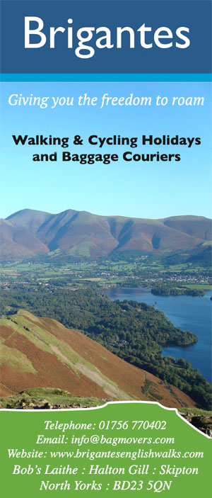 Brigantes Walking Holidays and Baggage Couriers