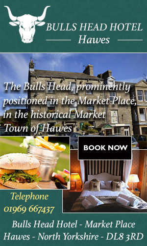 Bulls Head Hotel Hawes accommodation food drink yorksghire dales
