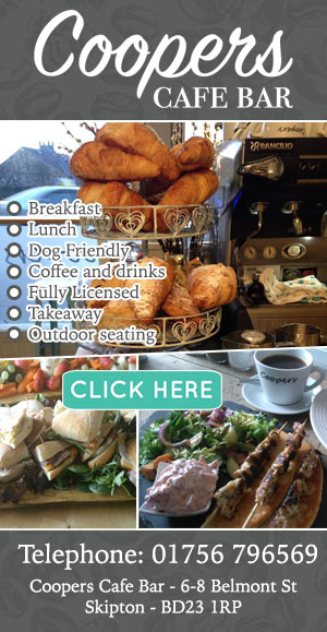 Coopers Cafe Bar Skipton Food and drink cakes sandwiches eat lunch dinner breakfast