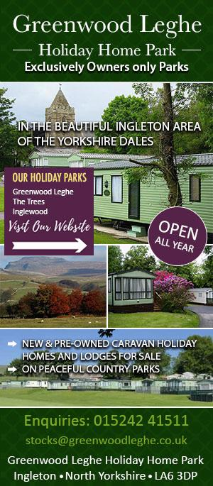 Greenwood Leghe Holiday Home Park, Singleton, Yorkshire Dales