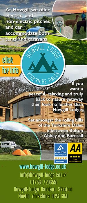 Howgill Lodge Barden Camping Caravans Yorkshire Dales
