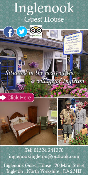 Inglenook Guest House, ingleton, yorkshire dales, bed and breakfast