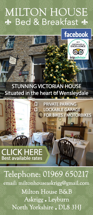 Milton House Askrigg Bed and Breakfast