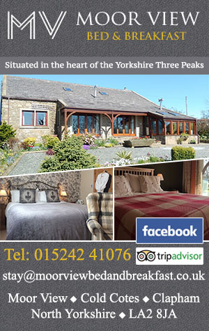Moorview Bed and Breakfast Clapham Accommodation Yorkshire Dales