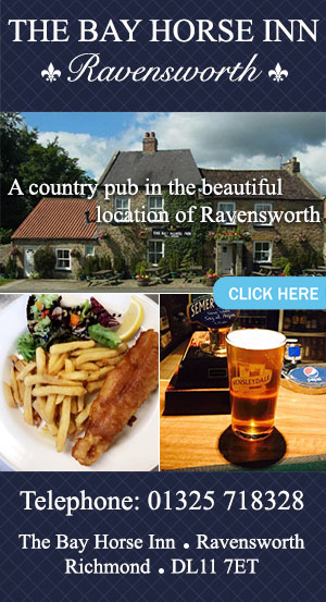 The Bay Horse Inn Ravensworth food and drink yorkshire dales