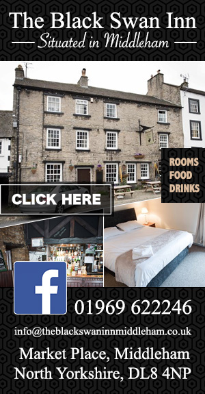 The Black Swan Inn, Middleham
