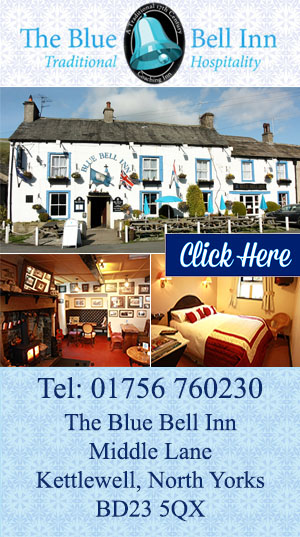 The Blue Bell Inn  Kettlewell accommodation food drink