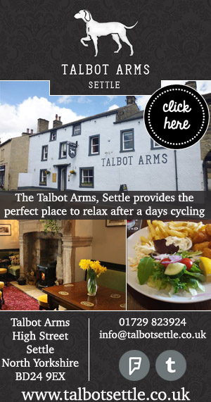 The Talbot Arms Settle Food Drink Cycle Friendly Yorkshire Dales