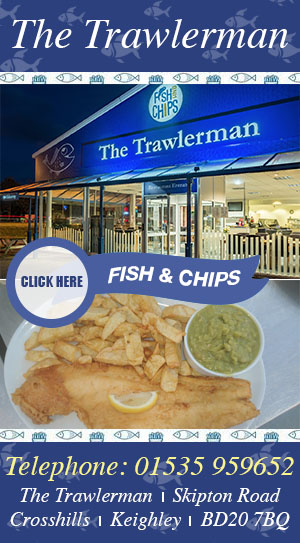 The Trawlerman fish and chips silsden