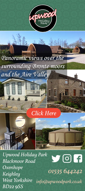 Upwood Holiday Park, Oxenhope, glamping, camping, pods, caravans