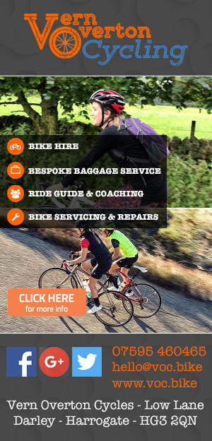Vern Overton Cycling Hire Servicing Leader Patly Bridge