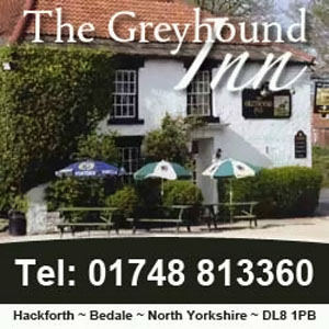 The Greyhound Inn, Hackforth