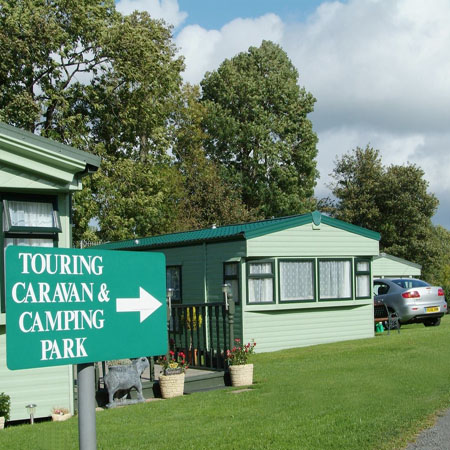 Caravanning in the Yorkshire Dales National Park