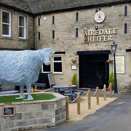 The Airedale Heifer, Keighley