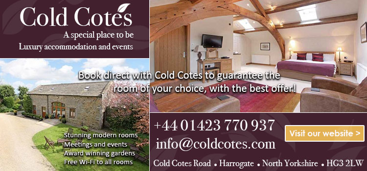 Cold Cotes, Harrogate, accommodation, stay, sleep, breakfast, bed and breakfast