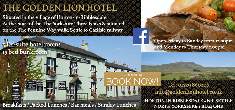 The Golden Lion Horton In Ribblesdale