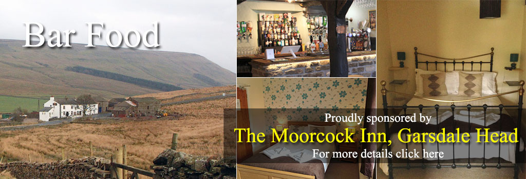 Moorcock Inn Pub Food Restaurant eat stay yorkshire dales visit