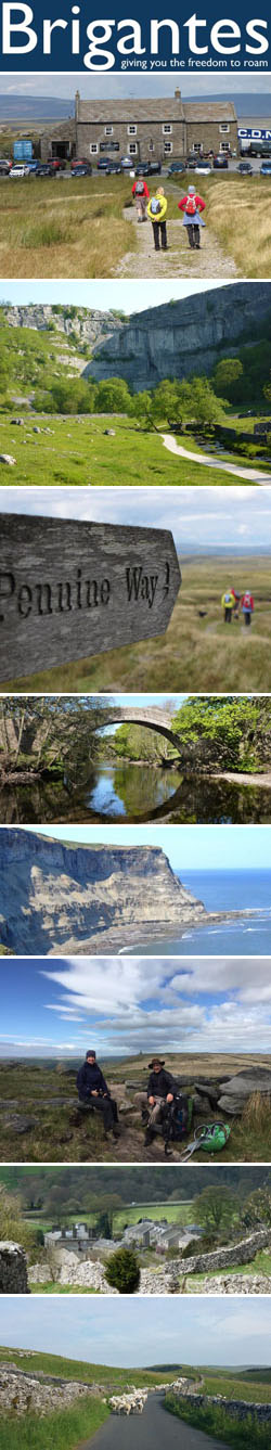 Brigantes Walking & Cycling Holidays