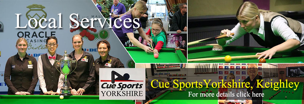 Cue Sports Yorkshire Keighley coaching