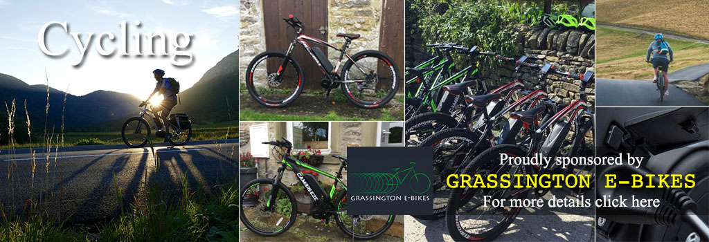 grassington E-Bike, cycle hire, electric, grassington, yorkshire dales