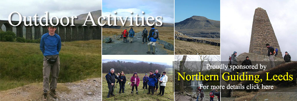 Northern Guiding tour walking leeds yorkshire dales