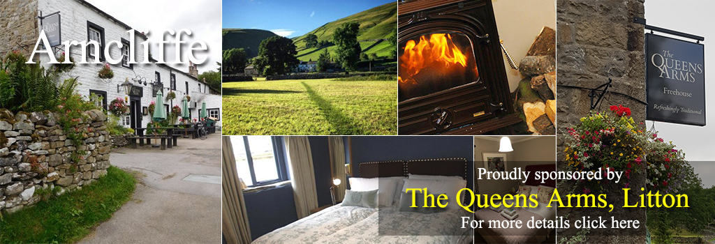 Queens Arms Litton, yorkshire dales accommodation food drink